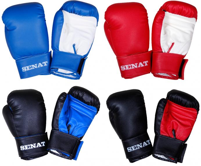 Купить Перчатки боксерские SENAT 6 унций