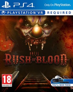 игра Until Dawn: Rush Of Blood PS4