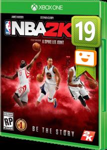 игра NBA 2K 19 XBOX ONE