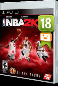 игра NBA 2K18 PS3