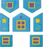 фото Деревянный магнитный конструктор Polytopia Стартовый набор 'Домик Квадратного города' (70021) #3