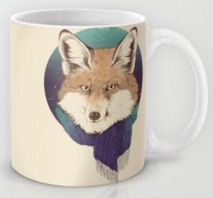 Подарок Оригинальная чашка 'Fox'