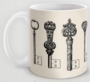 Подарок Оригинальная чашка 'Usb Keys'