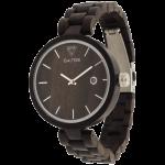 Подарок Деревянные часы Galtree 'Grace' Black (Эбеновое дерево)