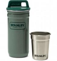 Подарок Набор Stanley Packable Shot Glass Set (стопки и стальной футляр)