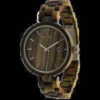Подарок Деревянные часы Galtree 'Grace' Green (Зеленый сандал)