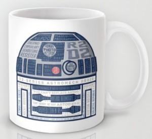 Подарок Авторская чашка 'R2D2 Robot'
