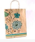Подарок Подарочный крафтовый пакет (32 х 25 х 10 см)