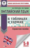 Книга Английский язык в таблицах и схемах. 5-9 классы