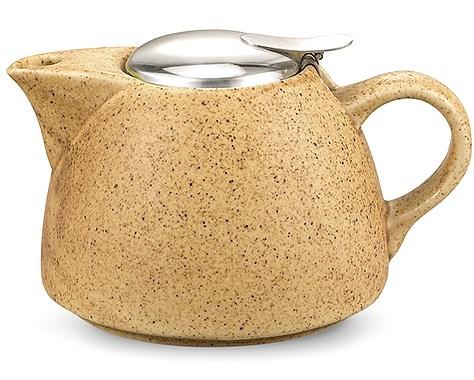 Купить Керамический заварочный чайник Fissman 1л (TP-9299.1000) песочный