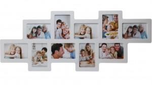 Подарок Мультирамка для фото Angel Gifts 10 в 1 (BIN-112122(w)) белая