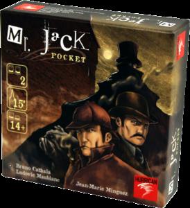 Настольная игра 'Mr. Jack pocket (Карманный Мистер Джек)'