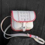 Подарок Женская сумка 'Вышиванка' из натуральной кожи