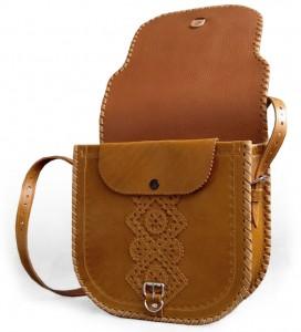 фото Женская сумка 'Ярославна' из натуральной кожи #2