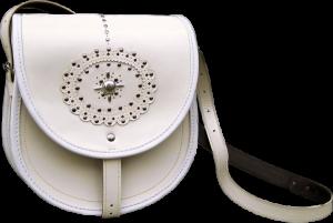 Подарок Женская сумка 'Звездочка' из натуральной кожи