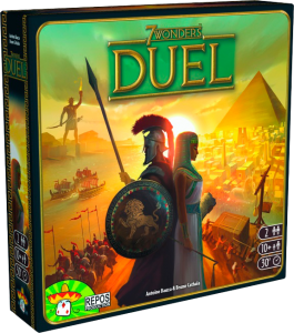 Настольная игра '7 Wonders: Duel (7 Чудес: Дуэль)'