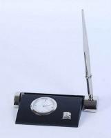 Набор настольный Pierre Cardin: часы, визитница, ручка ( PR2211/B)