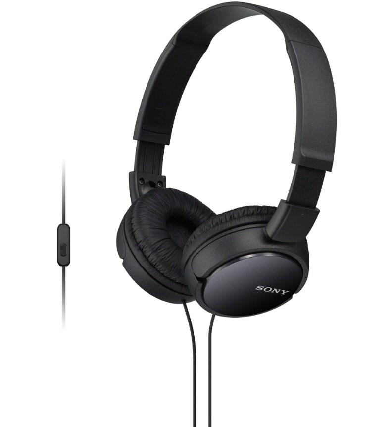 Купить Наушники Sony MDR-ZX110AP Black (MDRZX110APB.CE7)