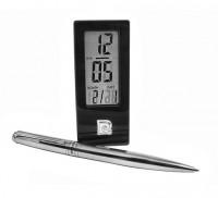 Набор Pierre Cardin: ручка шариковая + часы настольные (PR2607/C)