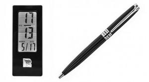 Набор Pierre Cardin: ручка шариковая + часы настольные (PR2607/N)