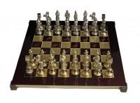 Шахматы 'Ренессанс-Рыцари' в деревянном футляре красные (S9RED)