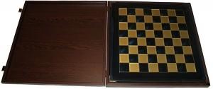 фото Шахматы 'Римляне' в деревянном футляре синие (S10BLU) #2
