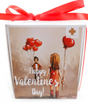 Подарок Печенье с предсказаниями 'VALENTINE'S DAY'