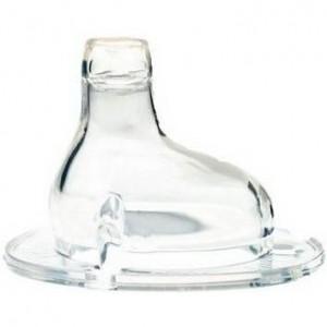 Силиконовый носик-непроливайка Nuby для бутылочек с широким горлом, 6+, 2шт. (1538)