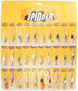 Набор вращающихся блесен Takamiya Spinner Kit AST TG-507 (30 шт)