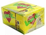 фото Блок жвачек 'Love is...' (кокос-ананас) #2