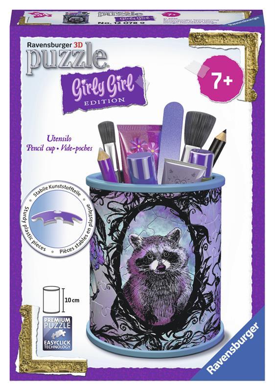 Купить 3D пазл Girly Girl 'Подставка для карандашей Животные' (RSV-120789), Ravensburger