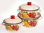 Набор посуды КМК Гранат-1
