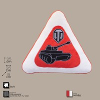 Декоративная подушка автознак «World of Tanks» (WG043336)