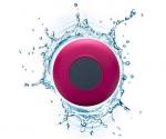 Подарок Водонепроницаемая Bluetooth колонка для душа (светло-бордовая)