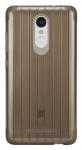 Чехол бампер силиконовый Xiaomi Silicon Case Non-slip для смартфона Redmi Note 3 Brown (1154800030)