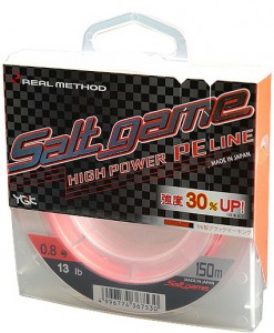 Шнур Real Method Salt Game 150m PE1.0