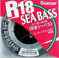 Шнур Seaguar R18 Sea Bass 150m PE1.5