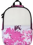 Рюкзак Upixel 'Camouflage' розово-белый