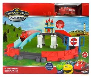 фото Спасение от пожара с паровозиком Уилсоном 'Chuggington' Tomy (LC54254) #2