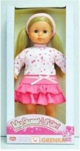 Кукла в кофточке и розовой юбочке Lotus Onda (45 см) (18520/1-5)