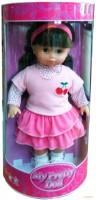 Мягкая кукла Lotus Onda с вишенкой на одежде (38 см) (16998)
