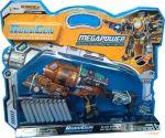 Пистолет-трансформер 2 в 1 'Megapower' RoboGun (6 мягких пуль, блистер) (K05)
