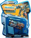 Пистолет-трансформер 2 в 1 'Slider' RoboGun (6 мягких пуль, блистер) (K03)