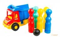 Грузовик с кеглями 'Multi Truck' Wader (39220)