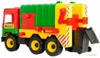 Мусоровоз (зеленый) 'Middle Truck' Wader (39224-1)