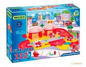 3D - набор пожарная часть 'Kid Cars' Wader (53310)
