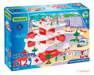 3D - набор 'Скорая помощь' Wader  'Kid Cars' (53330)