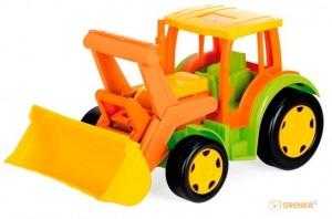 Трактор 'Гигант' (без картона) Wader (65005)
