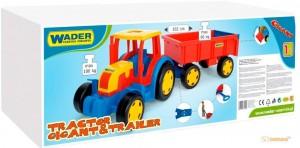 Трактор 'Гигант' (з прицепом) Wader (66100)