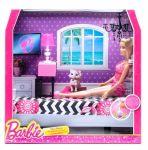Набор Barbie с куклой 'Роскошный интерьер - спальня' (CFB63-2)